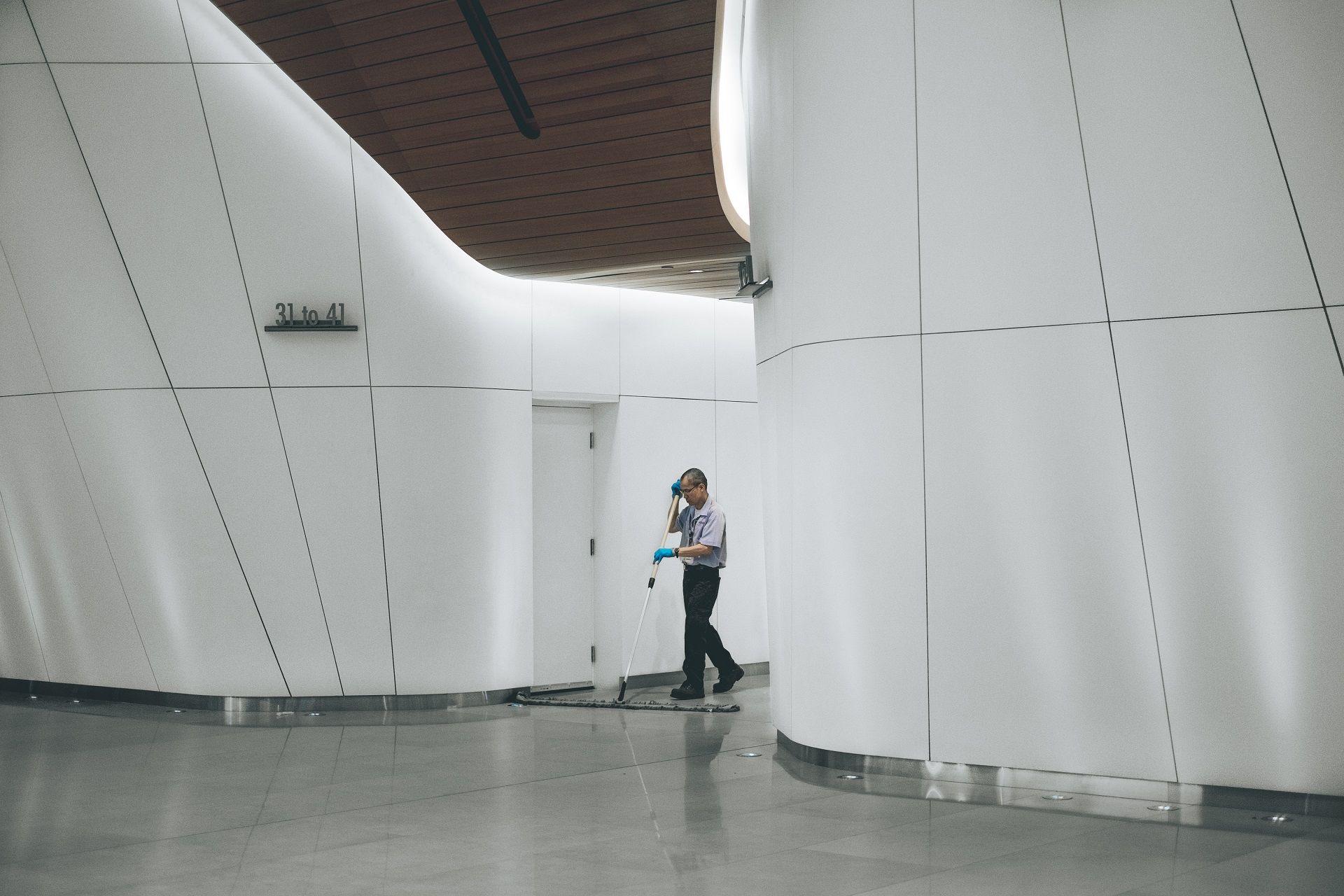 nettoyage hall
